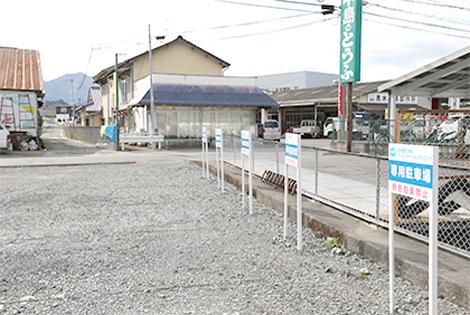 平井整形外科リハビリテーションクリニック駐車場